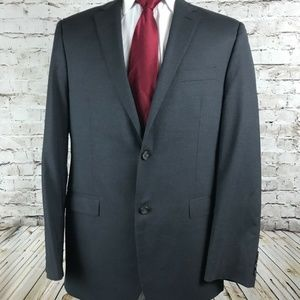 Lauren Ralph Lauren Two Button Gray Sport Coat 44L